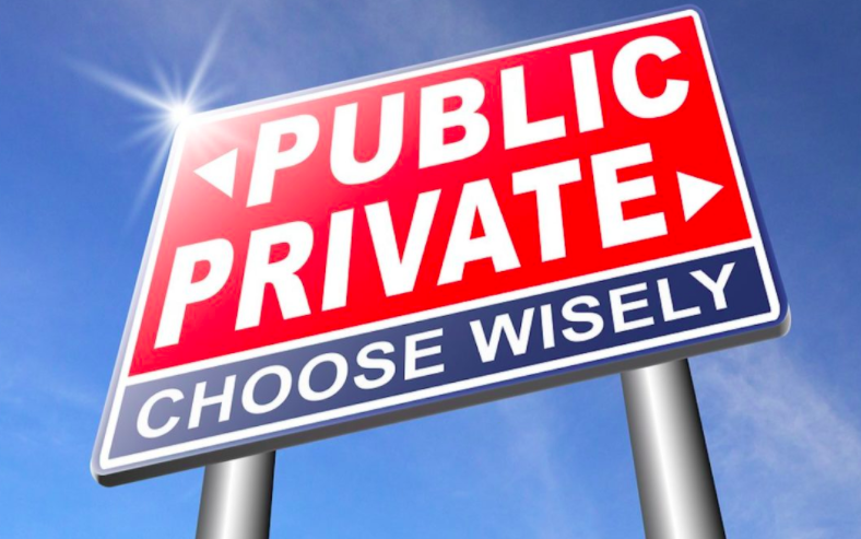 Public Private choose wisely